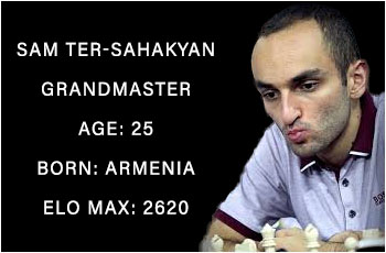 List celebrity chess players