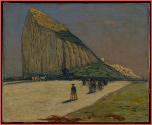 Gibraltar, 1914 James Wilson Morrice (Canadian) Painting, oil on canvas, 66 x 81.2 cm Gift of Mr. and Mrs. W.F. McLean, Toronto, in memory of Mr. and Mrs. S.G. Bennet